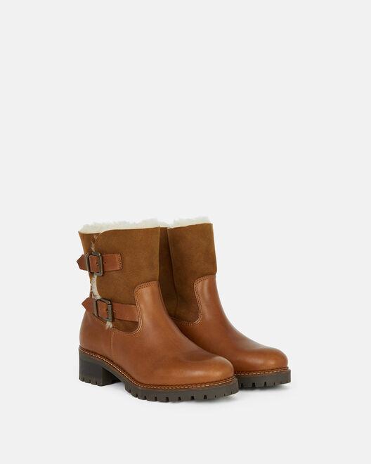 Boots - Dynaya, CUIR