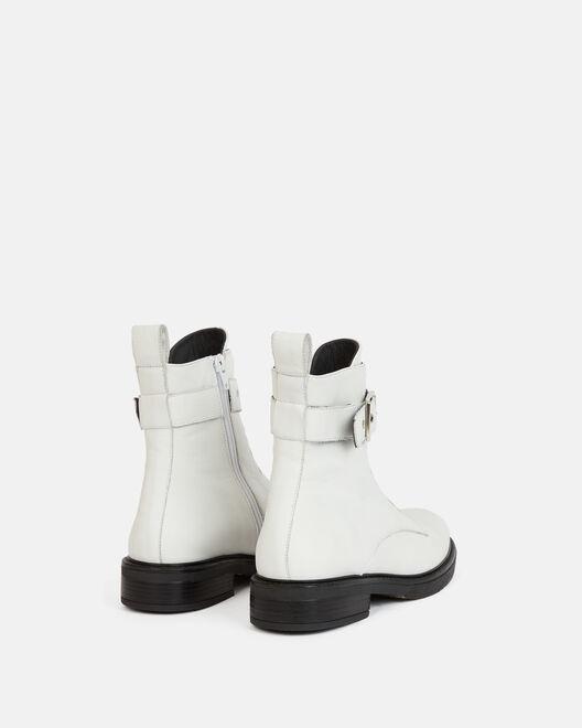 Boots - Saida, BLANC