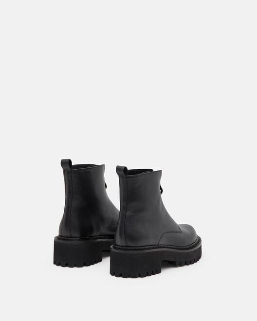 Boots plates - Stacy, NOIR