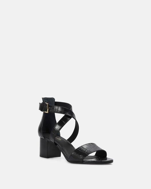 Sandale à talon - Chanez, NOIR