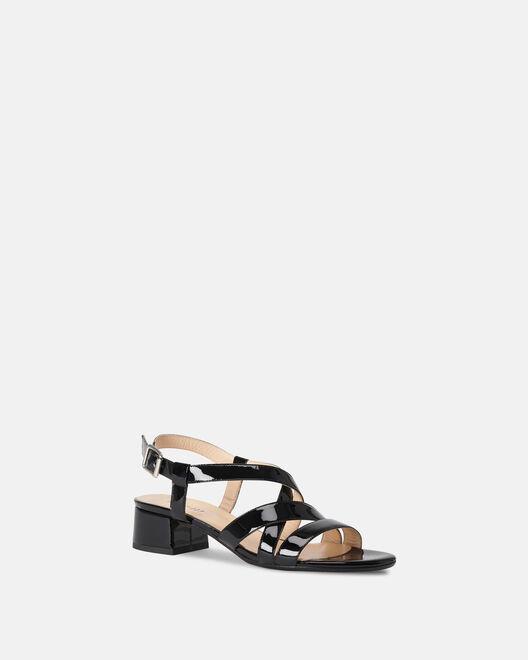 Sandale à talon - Maora, NOIR