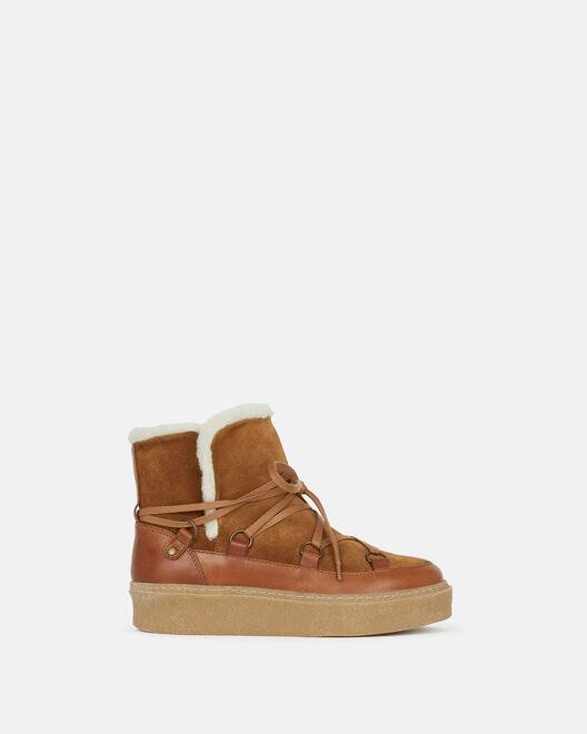 Boots - Doussa, CUIR