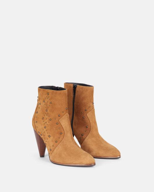 Boots Thessie, CUIR
