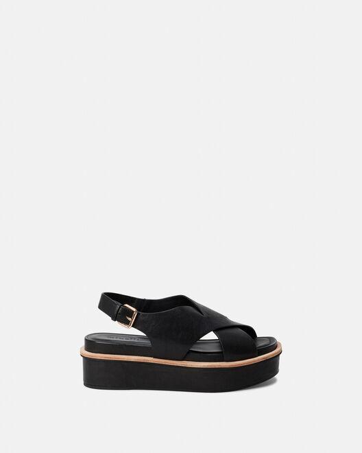 Sandale à talon - Clodio, NOIR