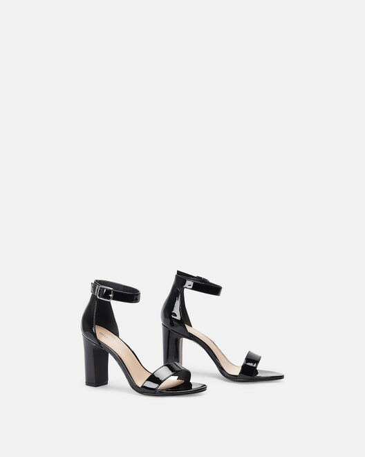 Sandale à talon - Clelie, NOIR