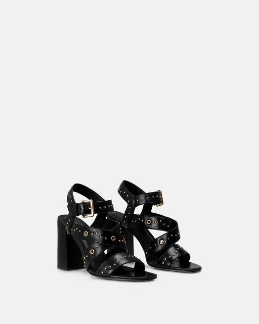 Sandale à talon - Celma, NOIR