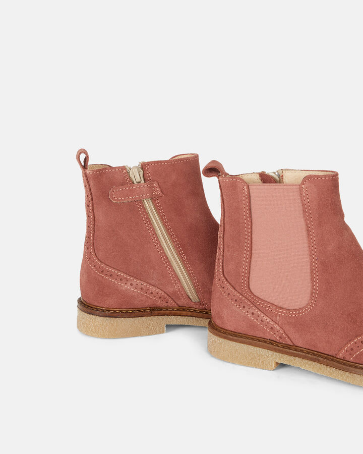 Boots - Haloesse, VIEUX ROSE