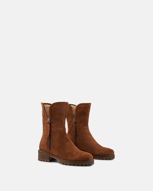 Boots - Acila, CUIR