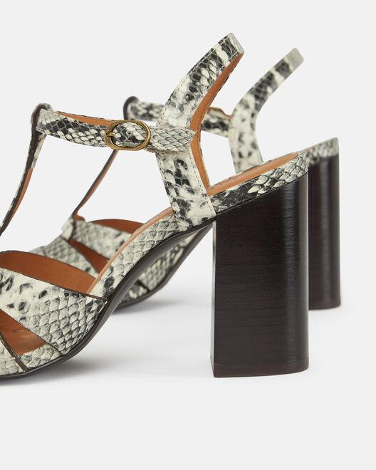 Sandale à talon - Calyssa, NATUREL