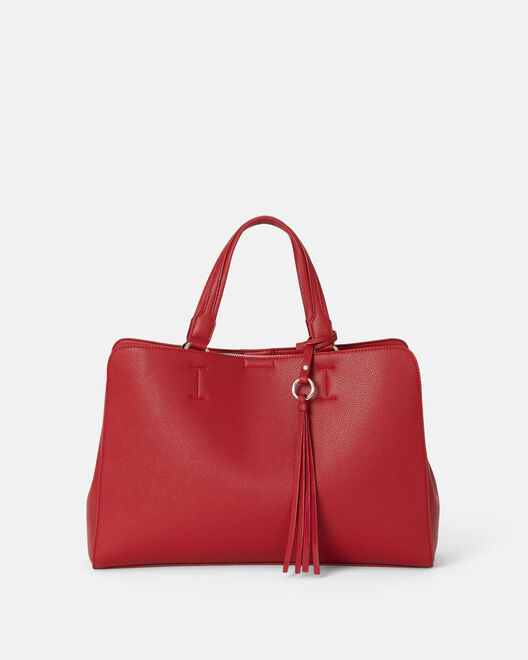 Sac grand format - Aceliane, ROUGE
