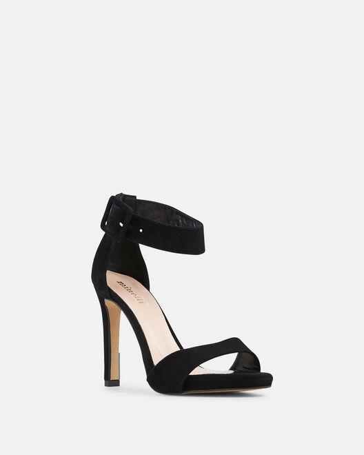 Sandale à talon - Lola, NOIR