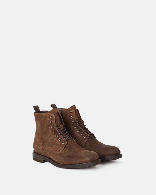 Boots - Floran, MARRON