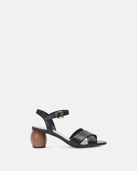 Sandale à talon - Cassiane, NOIR