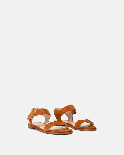 Sandale plate - Mouno, COGNAC