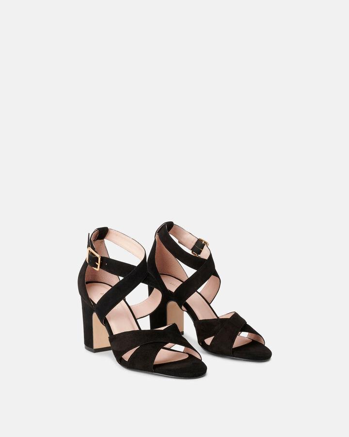 Sandale à talon - Clemira, NOIR