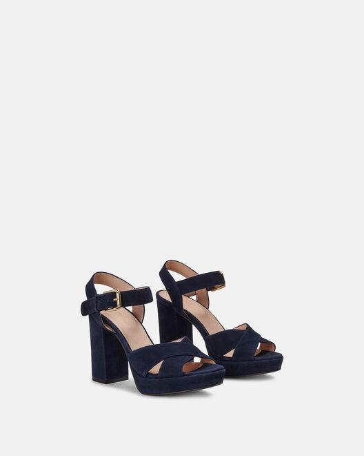 Sandale à talon - Cansu, MARINE
