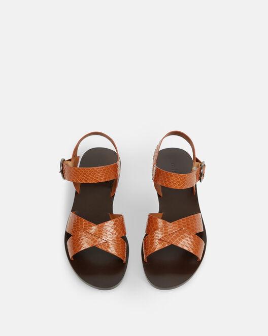 Sandale plate - Naemi, CUIR