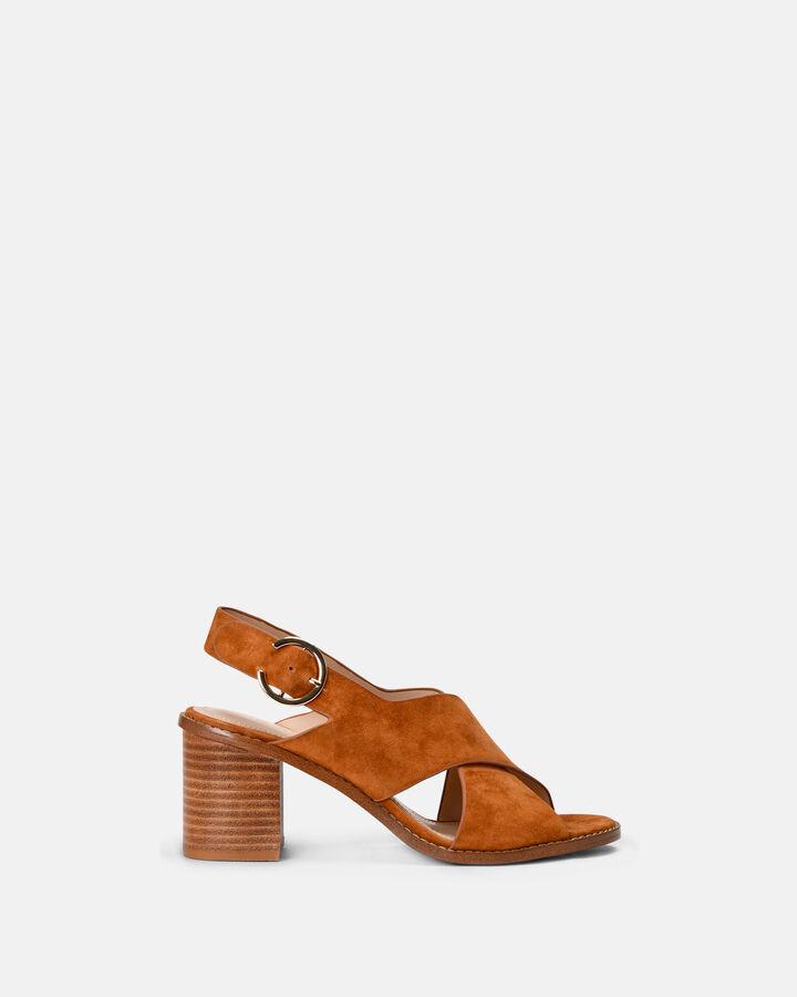 Sandale à talon - Casimiera, CUIR