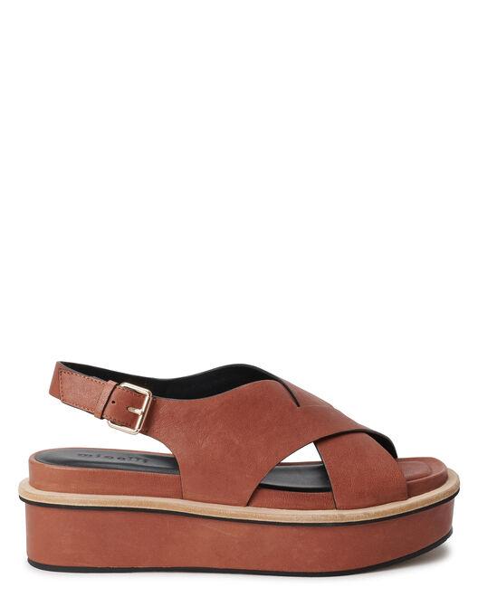 Sandale à talon - Clodio, CUIR