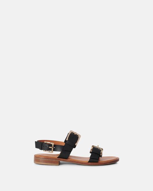 Sandale plate - Monico, NOIR