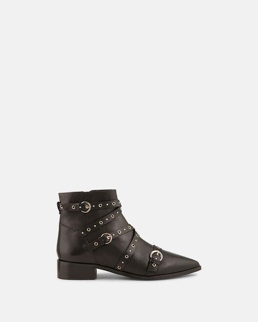 Boots - Regeanne, NOIR