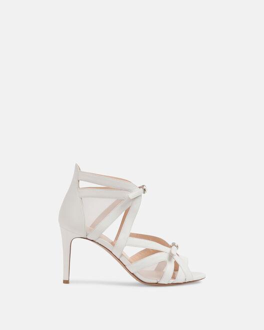 Sandale à talon - Cleonice, BLANC