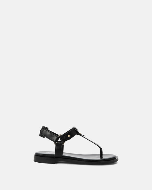 Sandale plate - Maina, NOIR