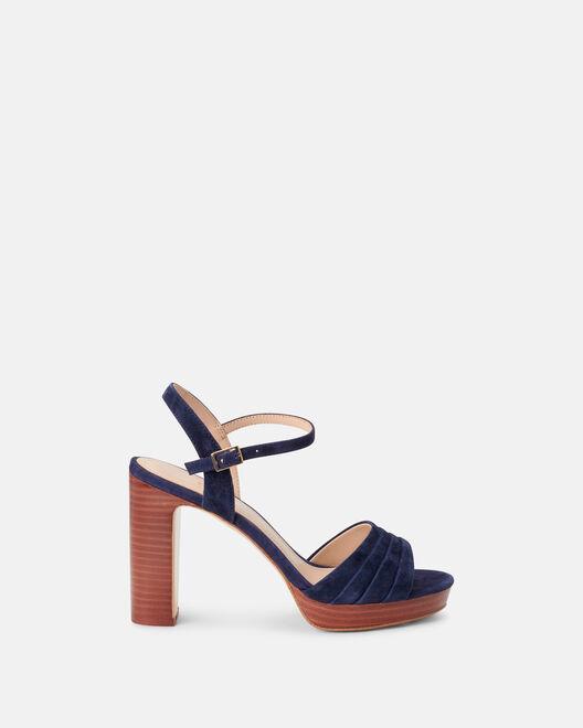 Sandale à talon - Cecyl, MARINE