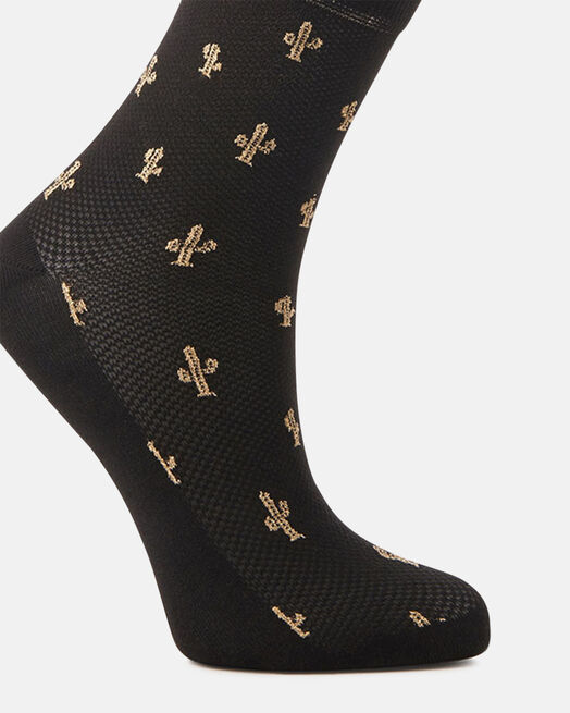 Chaussettes - Chaya, NOIR OR