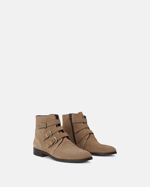 Boots - Amanci, TAUPE