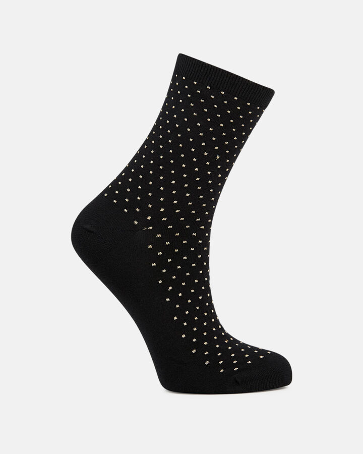 Chaussettes - Geena, NOIR OR