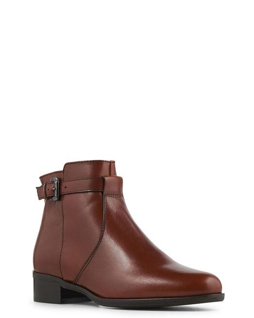 Boots - Douha, MARRON