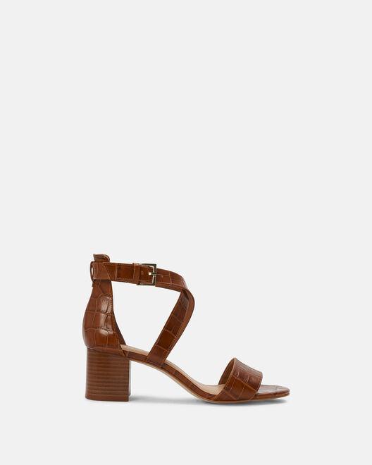 Sandale à talon - Chanez, CUIR