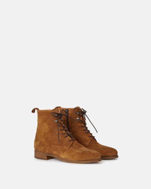 Boots - Badria, CAMEL
