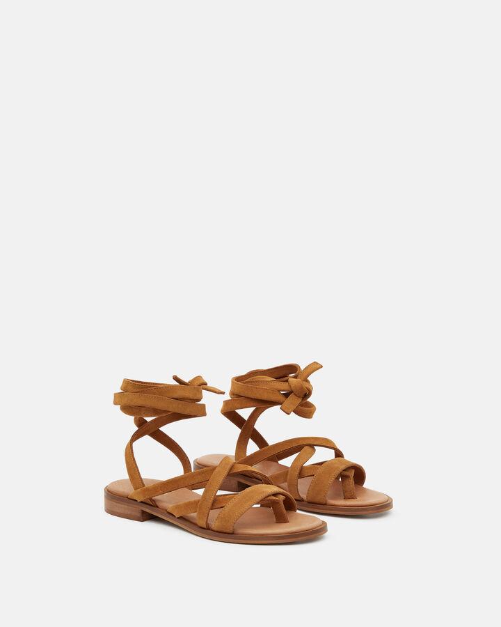 Sandale plate - Huria, CUIR