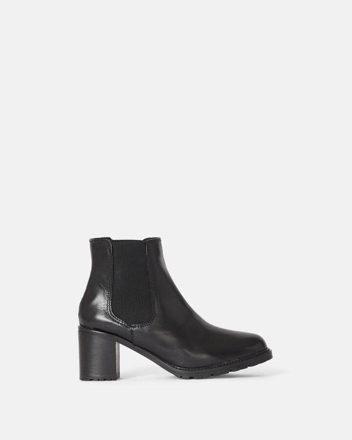 Boots - Fleur, NOIR