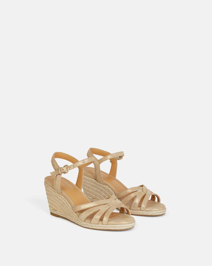 Sandale à talon - Teanie, PLATINE