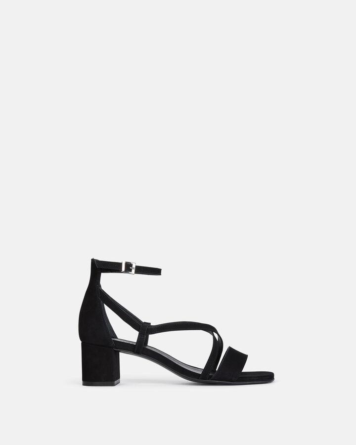 Sandale plate - Henrieta, NOIR