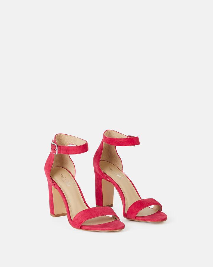 Sandale à talon - Beinta, FRAMBOISE