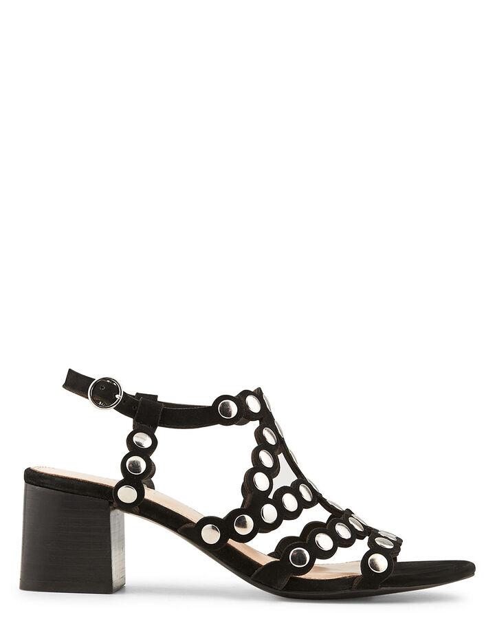 Sandale à talon - Benitta, NOIR