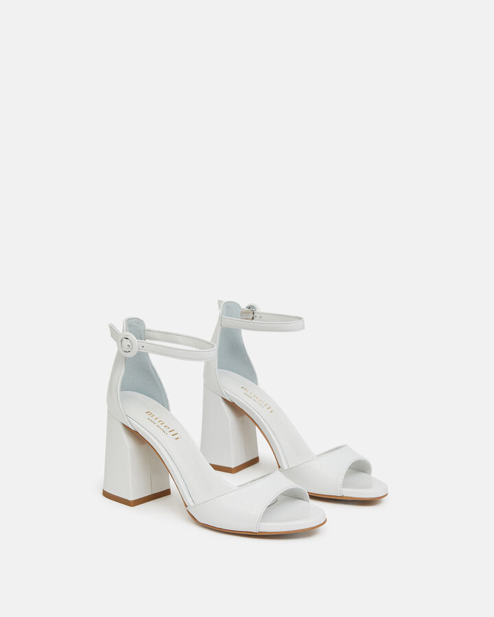 Sandale à talon - Tathiana, BLANC