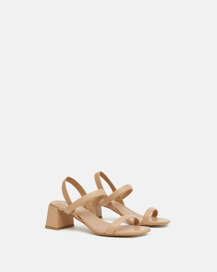 Sandale à talon - Teilye, BEIGE