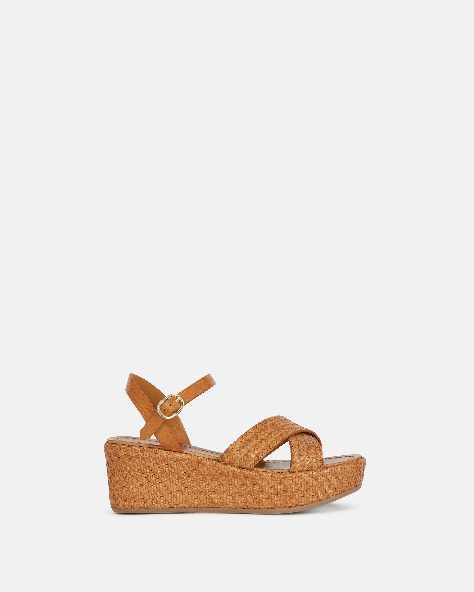 Chaussures compensées femme : espadrilles, sandales