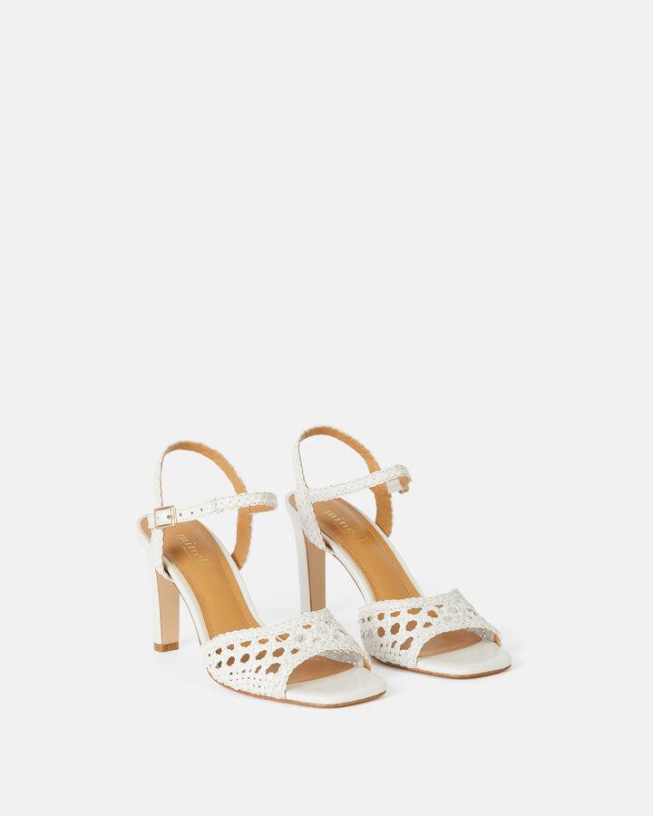 Sandale à talon - Tanais, BLANC