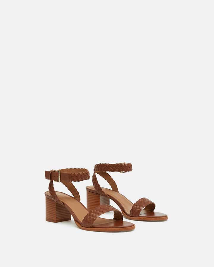 Sandale à talon - Tahiana, CUIR