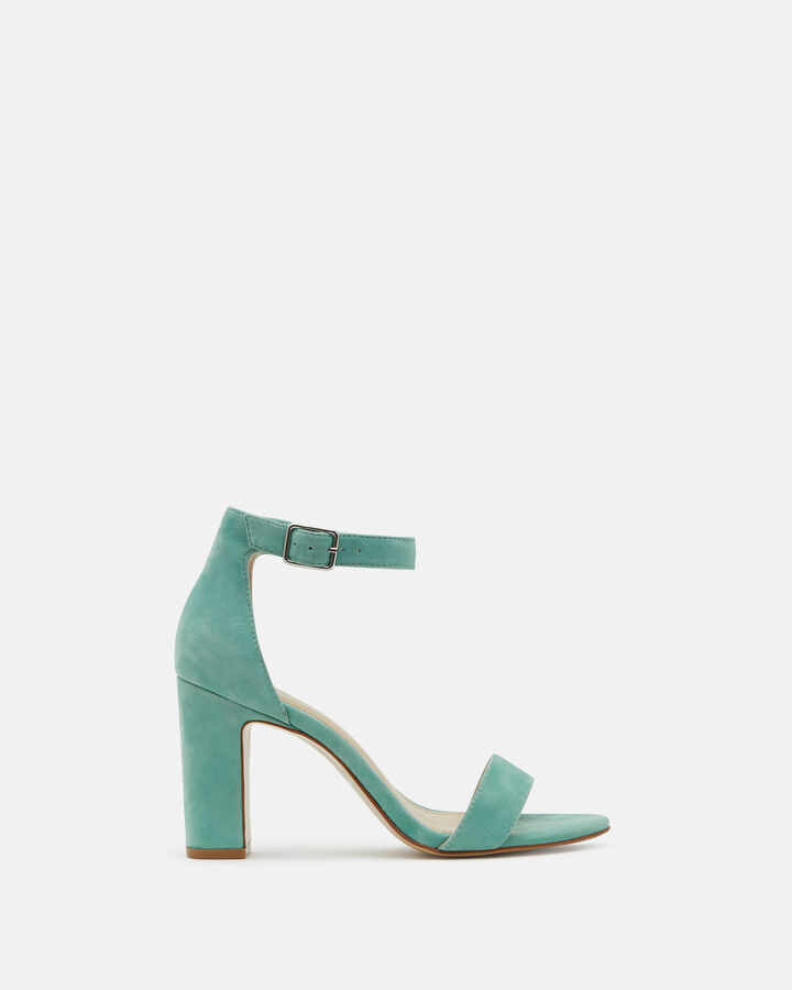 Sandale à talon - Beinta, VERT EAU