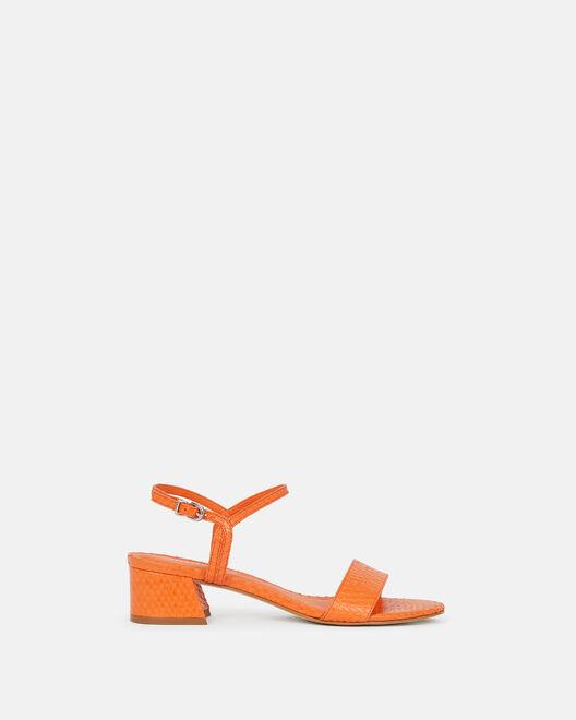 Sandale à talon - Nellah, ORANGE
