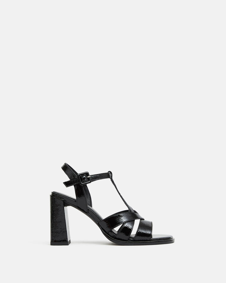 Sandale à talon - Teolina, NOIR