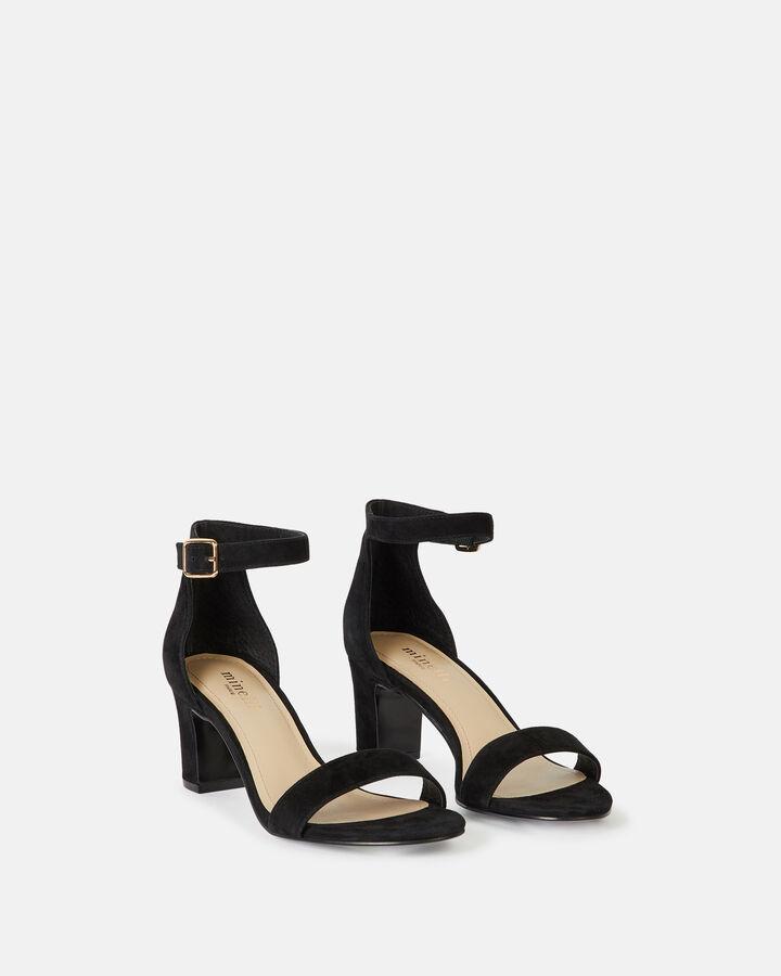 Sandale à talon - Tristana, NOIR