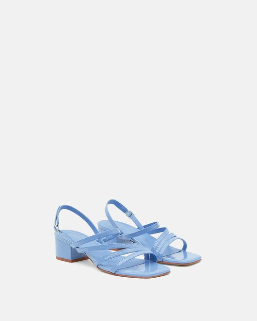 Sandale plate - Hannha, BLEU